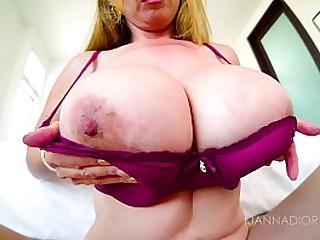 Big Tit Asian MILF POV Titty Fuck & Facial