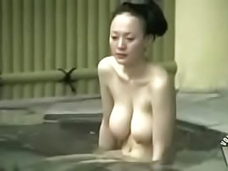big tits asian bath nude