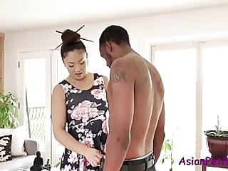 Big Black Cock For Asian MILF