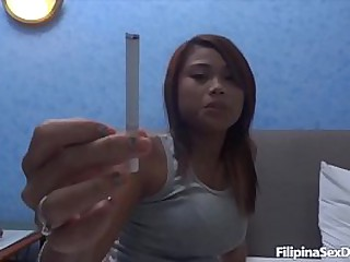 Hot horny asian chicks fuck in threesome