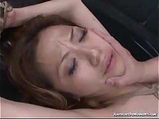 Hardcore Asian BDSM With Submissive Japanese Girl Experiencing Orgasms From Toys And Fucking