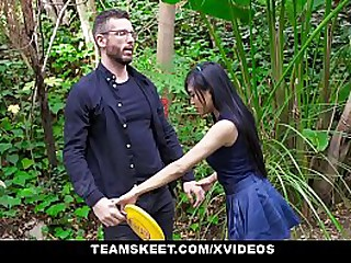 ExxxtraSmall - Ember Snow's Tight Asian Pussy Stuffed And Fillled With Dick