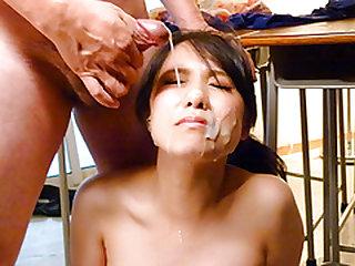 Serious POv porn scenes with red panties Miho Tsujii