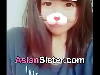 Cute asian girl show her teen tits - https://asiansister.com/