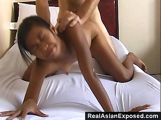 Sex Tourist Bangs A Skinny Chick