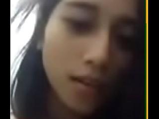 Asian teen masturbating and squirting