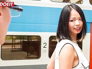 LETSDOEIT - POV Hot Sex With An Asian Teen Tourist Jureka Del Mar